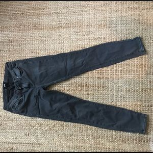 Anthropologie Paige Jeans Size 30 faded black